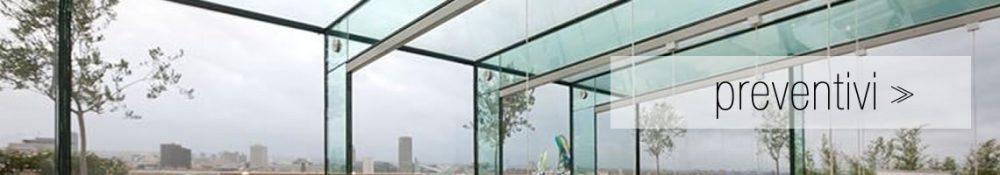 Banner preventivi per strutture di vetro per case - VETRERIA ROMA